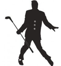 Elvis Golf Pic
