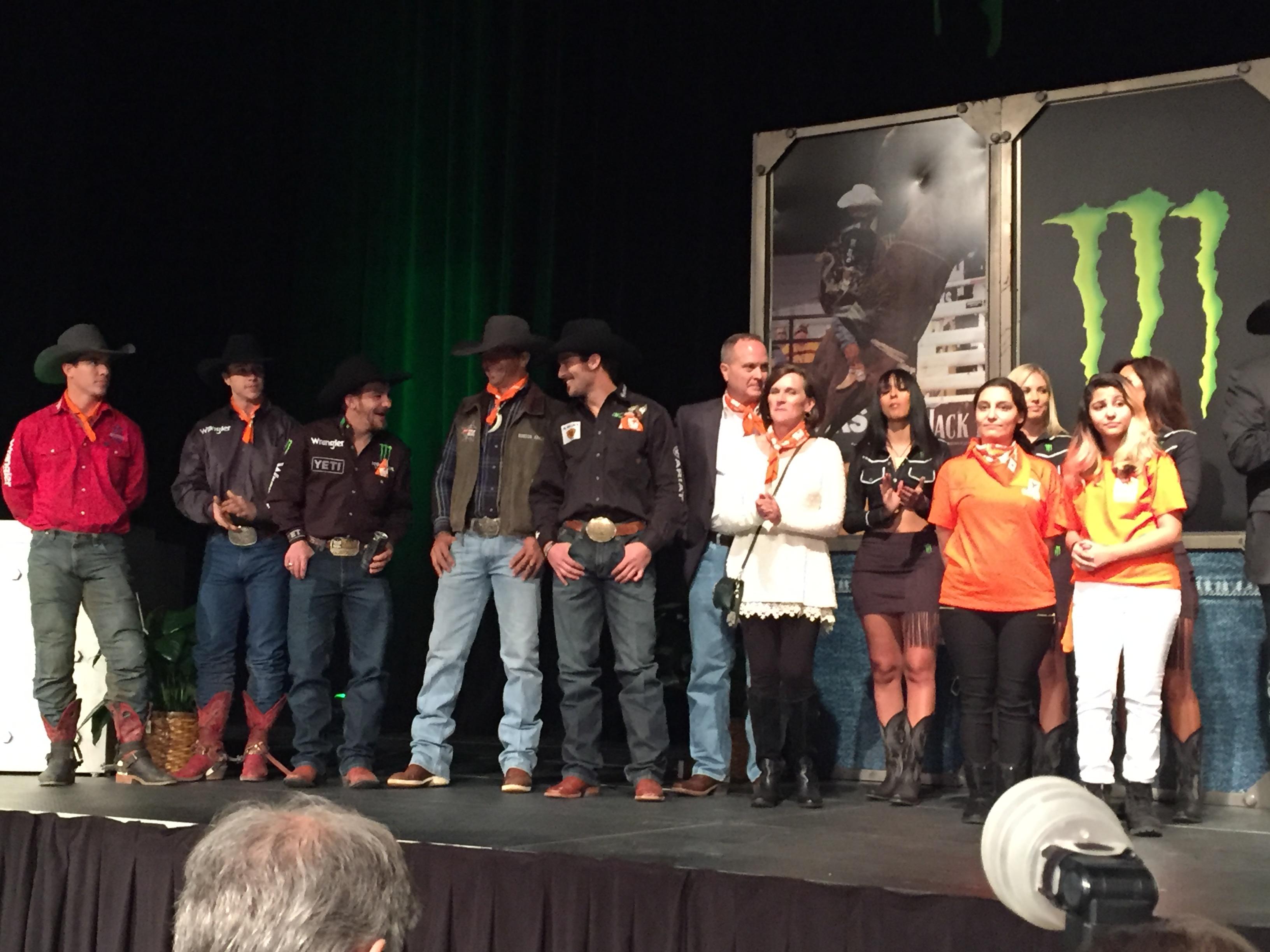 2015 Pbr Finals Bull Riders