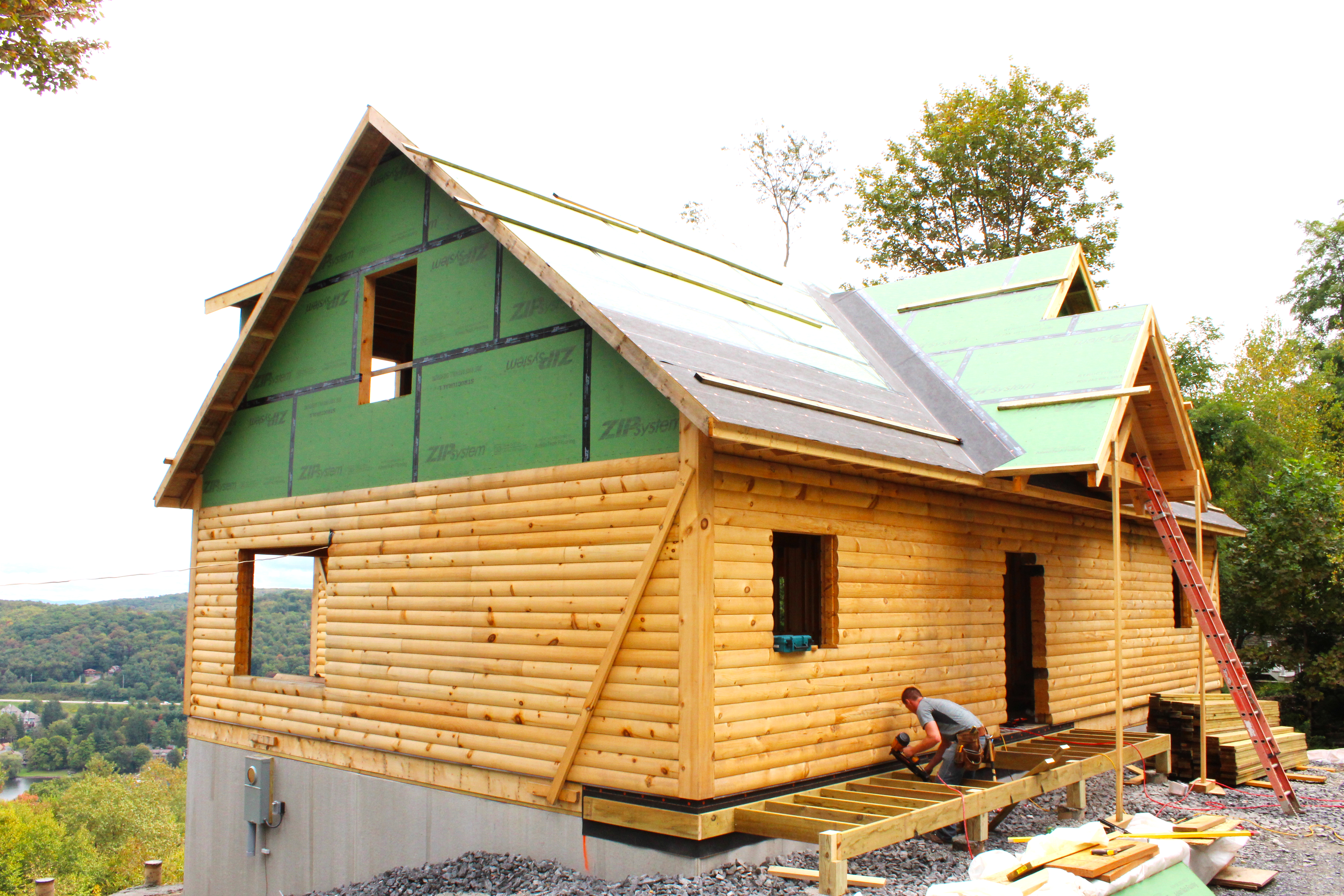 In maryland volunteers help build a respite house for for Help building a house