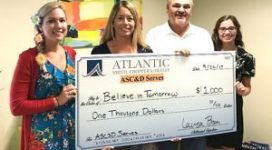 ASC&D Gives Donates To Believe In Tomorrow
