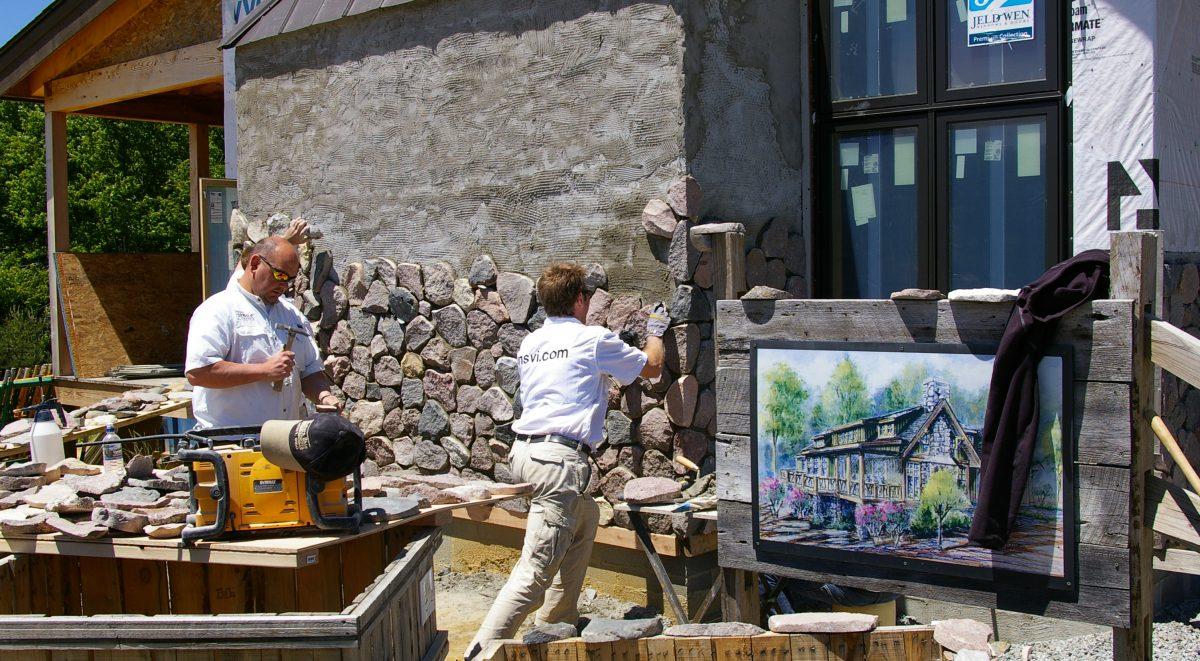 Natural Stone Veneers International Inc Helps To Build A